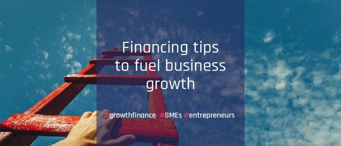 growth finance ladder sky